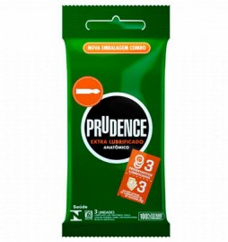 Preservativo E Lubrificante Combo Anatômico Prudence