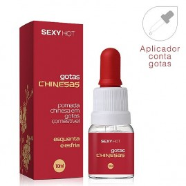 GOTAS CHINESAS  Comestivel - 10ml