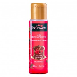 GEL AROMATIZANTE FRUTAS VERMELHAS HOT 35ML HF