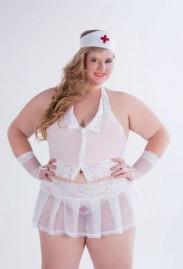 Fantasia Enfermeira GV Plus Size