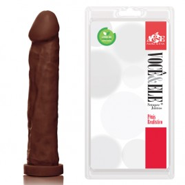 Prótese Gigante - 27,5x5,5 cm na cor marrom